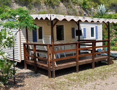 Mobil-Home Fidji exterieur - Camping Val Fleuri Location