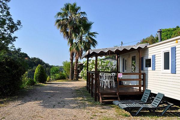 Camping le Val Fleuri-Mobil-home Terrasse Fidj
