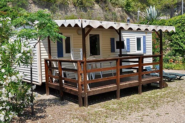 Camping le Val Fleuri-Mobil-home Terrasse exterieur Fidji