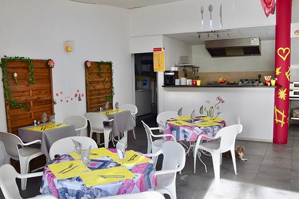Camping Val Fleuri - Restaurant- Cagnes sur Mer