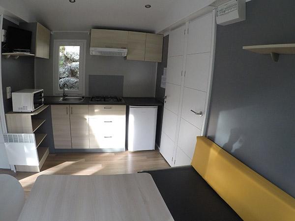 Camping le Val Fleuri-Mobil-home Salon-Mediterranee