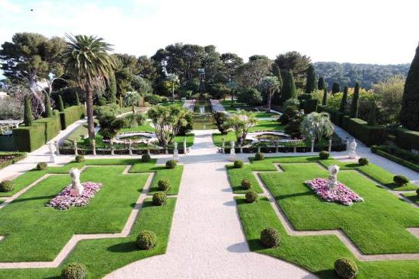 Jardin Francais - Cagnes sur Mer
